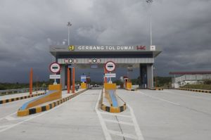 Tol Pekanbaru-Dumai Diresmikan, Gubernur Riau Yakin Ekpor Impor Naik