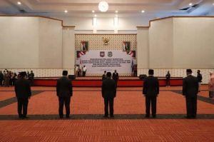 Pesan Gubernur Maluku Utara Pada Lima Penjabat Sementara