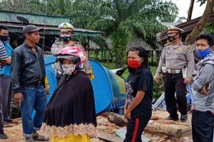 Truk Tabrak Kedai di Km 70 Jalintim, 1 Bocah Tewas, Adik dan Ibunya Luka