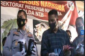 Bongkar Sindikan Sabu 2,6 Kg, Dir Narkoba Polda NTB: Berhenti Jadi Pengedar atau Kami Buru hingga ke Lubang Semut