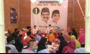 Kampanye Perdana, Gus Ipul Sapa Warga Batas Kota yang Kerab Banjir