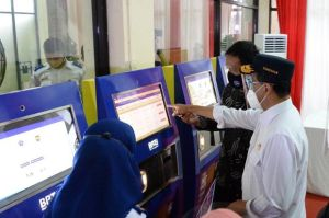 Aplikasi Lacak Trans dan E-Ticketing,Terobosan BPTJ di Masa Pandemi