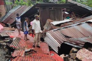 Diterjang Banjir, 2 Warga Jayapura Papua Tewas Tertimpa Rumah