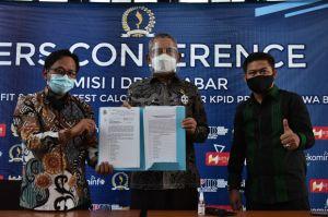 DPRD Jabar Umumkan 7 Komisioner KPID Jabar Terpilih