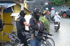 Baubau Sultra Memanas Sekelompok Pemuda Bersenjata Bertikai, Polisi Bersenjata Laras Panjang Bersiaga
