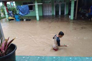 Hujan Deras, Pangkalpinang Kembali Dikepung Banjir