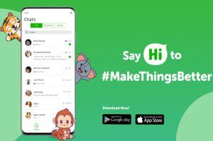 Hi App, Aplikasi Chat Buatan Anak Bangsa Pesaing WhatsApp Resmi Meluncur