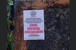 Poster Ajakan Rusuh Muncul di Denpasar, BEM Unud: Kami Mengutuk Aksi Itu