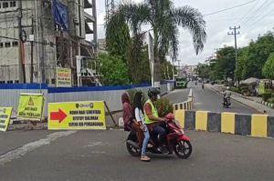 Aktivitas Pembangunan RSUD Baturaja Meningkat, Dishub OKU Tutup Sementara Jalan Dr Mohammad Hatta