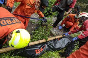 Terpeleset, Warga Pekalongan Hanyut di Sungai Welo Ditemukan Tak Bernyawa