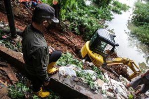 Belasan Rumah di Griya Cimanggu Indah Bogor Diterjang Longsor dan Banjir