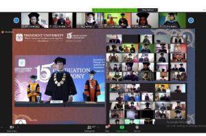 Rektor President University Berharap 1.000 Wisudawan Terus Mengasah Kemampuan
