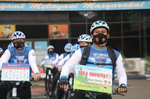 Satlantas Polrestro Tangerang Resmikan Tim Khusus Sepeda