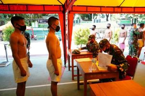 Animo Pemuda Sultra Jadi Prajurit TNI Tinggi, 1.073 Orang Ikut Seleksi Tamtama