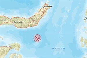 Bolaang Mongondow Selatan Diguncang Gempa Magnitudo 5,7