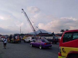 Libur Panjang, Ribuan Kendaraan Mulai Padati Kawasan Gerbang Tol Cileunyi