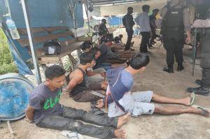 Pesta Sabu Sambil Main Biliar, 10 Pria di Palangka Raya Ditangkap Polda Kalteng