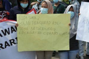 Nama Dicatut, Warga Batulawang Cianjur Minta Reforma Agraria Dipercepat