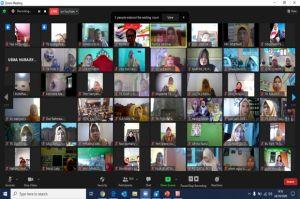 Ratusan Guru Latihan Desain Motif Batik Secara Daring