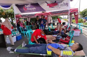 Donor Darah Kolaborasi Komunitas Indonesia Timur Raih Dua Rekor Muri