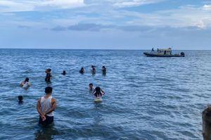 Ditpolairud Polda Sulut Kerahkan Kapal Polisi di Objek Wisata Pantai