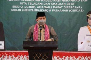 Pjs Gubernur Fatoni Sosialisasikan Gerakan Sulut Bermasker