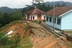 Pergerakan Tanah dan Longsor di Lebak Banten, Gedung Sekolah Kena Dampak