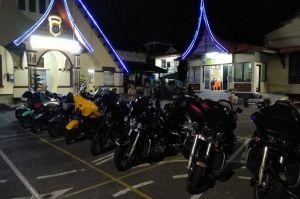Rombongan Moge yang Keroyok Intel Kodim Ternyata Mau Touring hingga ke titik Nol Sabang Aceh