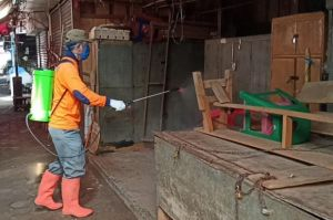 Pedagang dan Satpam Meninggal Kena COVID-19, Pasar Induk Pemalang Ditutup