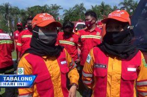 UPBS Wanita Jadi Sorotan Bupati Tabalong pada Apel Siaga Bencana