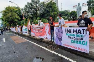 Ada Nikita Mirzani Berhijab, Ikut Demo Tolak Habib Rizieq di Surabaya