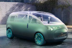 BMW Mini Ciptakan Mobil Listrik Futuristik Lengkap dengan Ruang Tamu