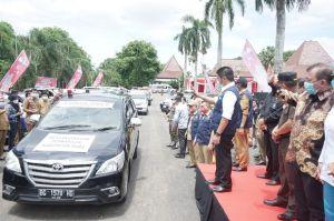 Herman Deru Resmi Hadirkan Satu Ambulans Satu Desa