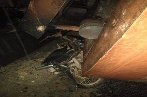 1 Rumah Warga Deliserdang Hancur Berantakan Tertimpa Eskavator yang Tergelincir