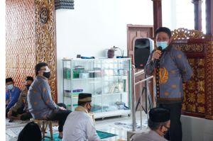 HD Ajak Menteri PAN RB Safari Sholat Jumat di Masjid Baitussalam OPI Jakabaring