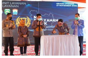 Menteri PAN RB dan Gubernur Sumsel Resmikan Mal Pelayanan Publik Terbesar Nasional