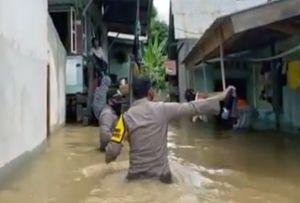 Pemkab Tebo Tak Punya Perahu Karet, 2 Desa di Muara Tabir Terisolir Banjir