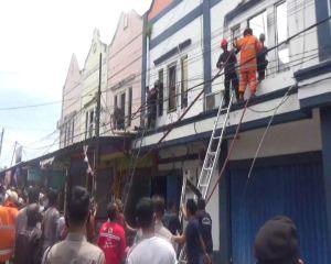 Kantor Bank Lampung Terbakar, Konsleting Diduga Jadi Pemicu
