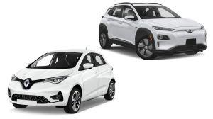 Hyundai Kona dan Renault Zoe Jadi Mobil Paling Hijau versi Green NCAP