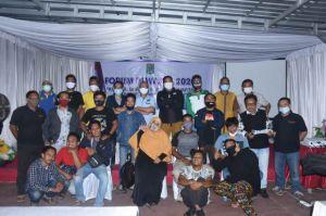 Humas Pemkab Lombok Utara Gelar Kumpul Bareng Forum Pewarta