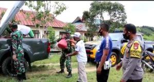 TNI dan Polri Beri Trauma Healing dan Sembako untuk Masyarakat Sigi