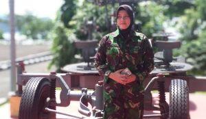 Ibu Dua Anak Anggota Kowal Ini Gabung Pasukan Garuda ke Lebanon
