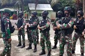 Satgas Yonif MR 413 Kostrad Gagalkan Penyelundupan Ganja di Perbatasan RI-PNG