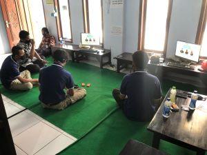 Fasilitasi Pembelajaran Saat Pandemi, Karang Taruna Sediakan Ruang Belajar Online