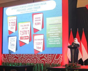 Khofifah Minta Bupati Walikota Percepat Realisasi Anggaran untuk Pemulihan Ekonomi
