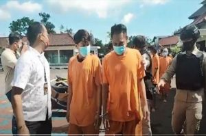 2 Anggota Geng Motor dan 5 Pelaku Curanmor Dibekuk Polisi