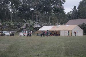 Semeru Kembali Tenang, Tenda Pengungsian Tetap Disiagakan di Kamarkajang
