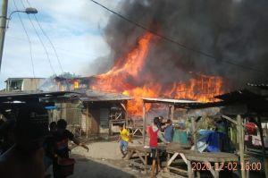 Medan Membara, 30 Rumah Warga Hangus Dilalap Api