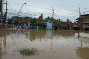 Banjir Terjang Lebak, Kecamatan Banjarsari dan Cimarga Paling Parah Terendam