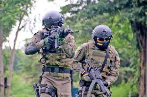 Prajurit Hantu Laut Marinir TNI AL Terlibat Pertempuran Sengit Jarak Dekat